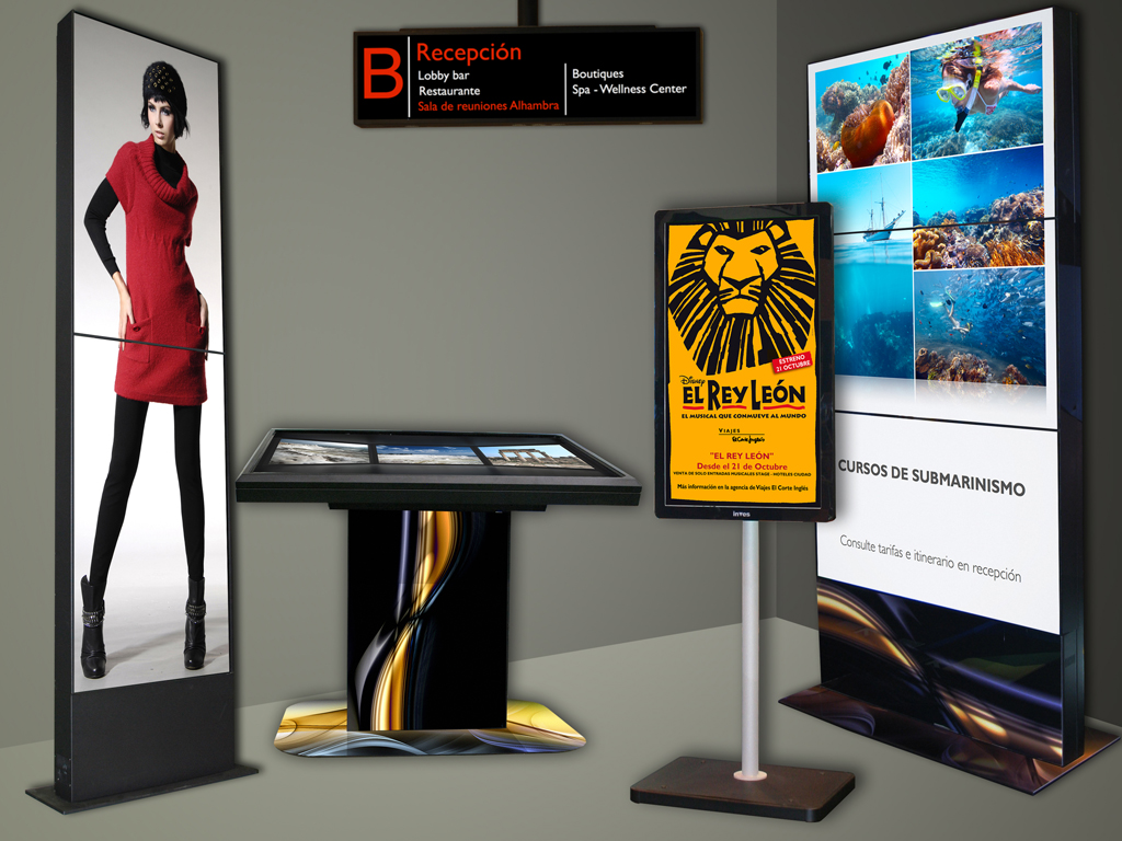 Planet Lounge Media Digital Signage Brand Entertainment